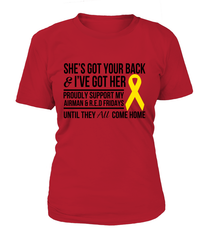 Air Force Mom Got Her Red Friday T-shirts