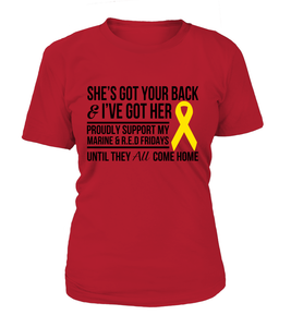 Marine Mom Got Her Red Friday T-shirts