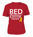 Red Friday Support Our Troops