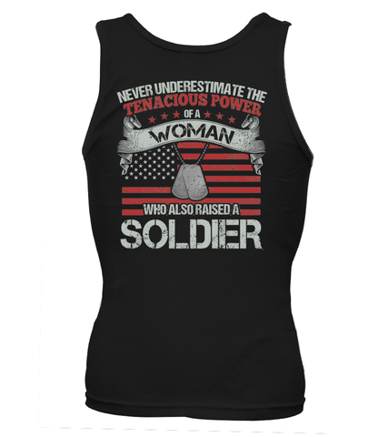Never Underestimate Army Mom T-shirts