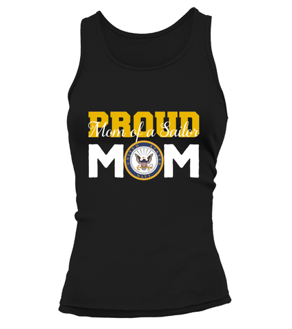 Proud Mom Navy T-shirts