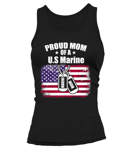 Proud mom Of U.S Marine T-shirts