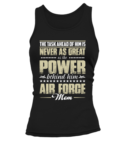 Air Force Mom Power T-shirts