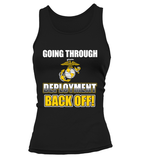 Marine Mom Back Off Deployment T-shirts
