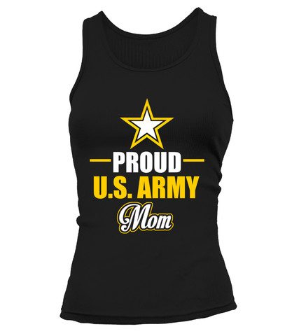 Proud U.S. Army Mom T-shirts