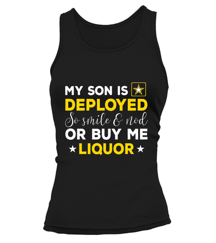 Army Mom Buy Me Liquor T-shirts - MotherProud