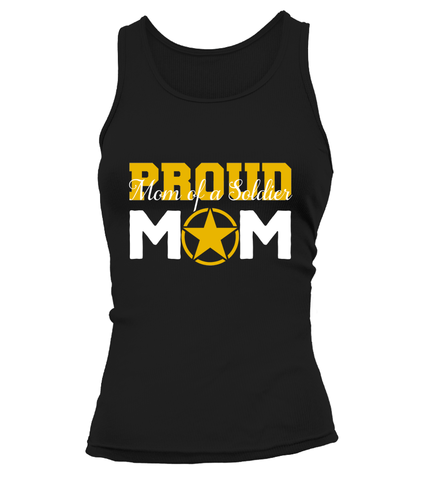 Proud Mom Army T-shirts