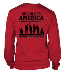 RED Friday God Bless America T-shirts