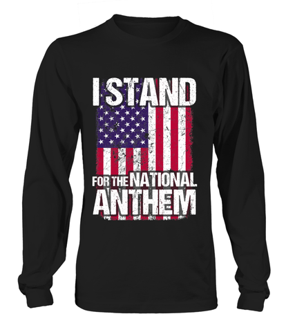 Military Stand For National Anthem T-shirts