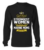 God Found Marine Moms T-shirts