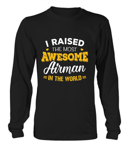 Air Force Mom Most Awesome T-shirts - MotherProud