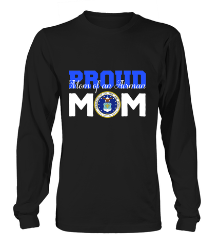 Proud Mom Air Force T-shirts