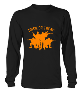 Halloween Military Trick Or Treat T-shirts