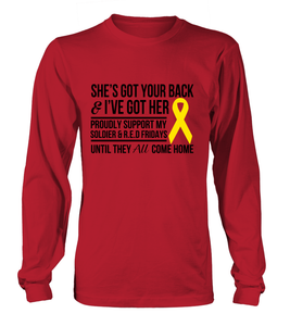 Army Mom Got Her Red Friday T-shirts - MotherProud