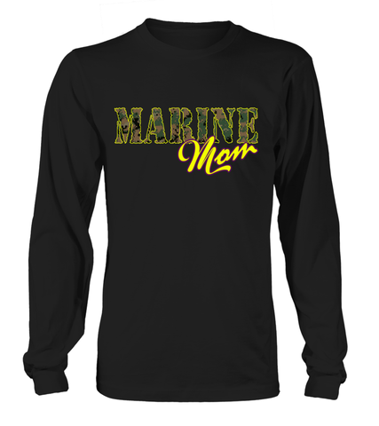 Marine Mom Camo T-shirts
