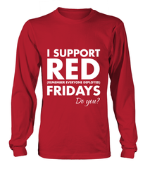 Support Red Friday Do You T-shirts