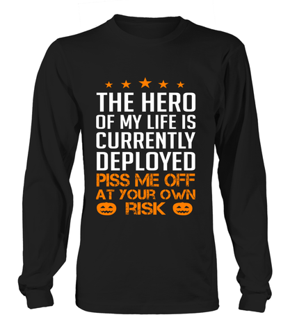 Military Mom Piss Me Halloween T-shirts