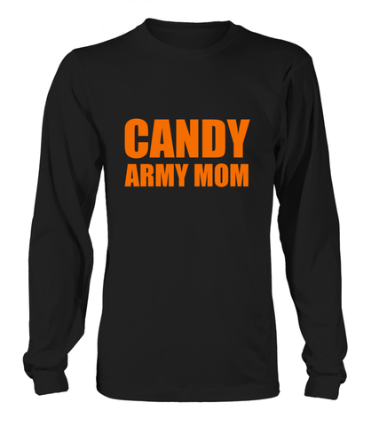 Candy Army Mom Halloween T-shirts