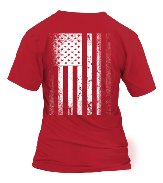 Wear RED on Fridays Flag Military 2 Sides T-shirts All Styles Available
