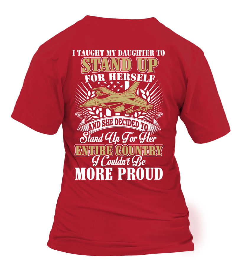 Air Force Mom Daughter More Proud Plus T-shirts - MotherProud