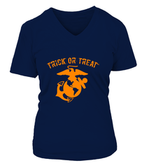 Marine Halloween Trick Or Treat T-shirts