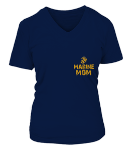 Marine Mom Never Complains T-shirts