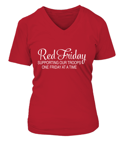 Red Friday One Friday At A Time T-shirts