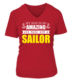 Navy Mom God Made Sailor T-shirts