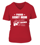 Army Mom My Son Soldier Hero T-shirts