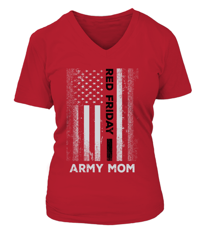 Army Mom Red Friday T-shirts