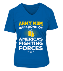Army Mom Backbone T-shirts