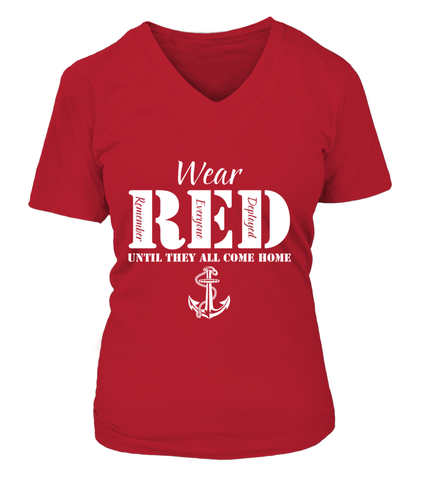 Navy Wear RED T-shirts