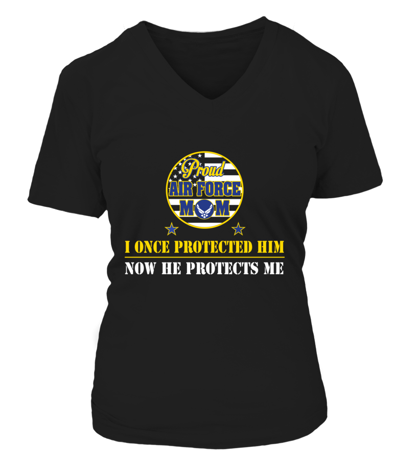 Air Force Mom Once Protected T-shirts - MotherProud