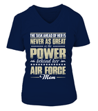 Air Force Mom Daughter Power T-shirts - MotherProud