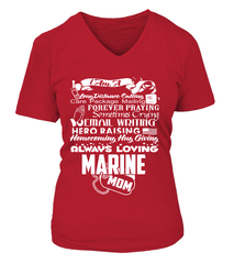 Marine Mom Always Loving T-shirts