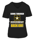 Army Mom Back Off Deployment T-shirts - MotherProud