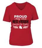 Army Mom RED Support My Daughter T-shirts