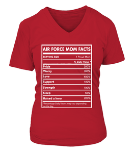 Air Force Mom Facts T-shirts - MotherProud