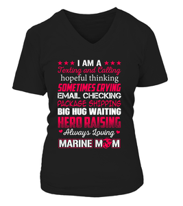Marine Mom Hero Raising T-shirts