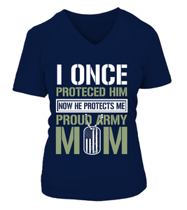 Army Mom Protects T-shirts