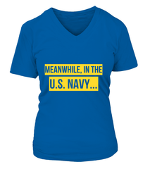 Navy Meanwhile T-shirts