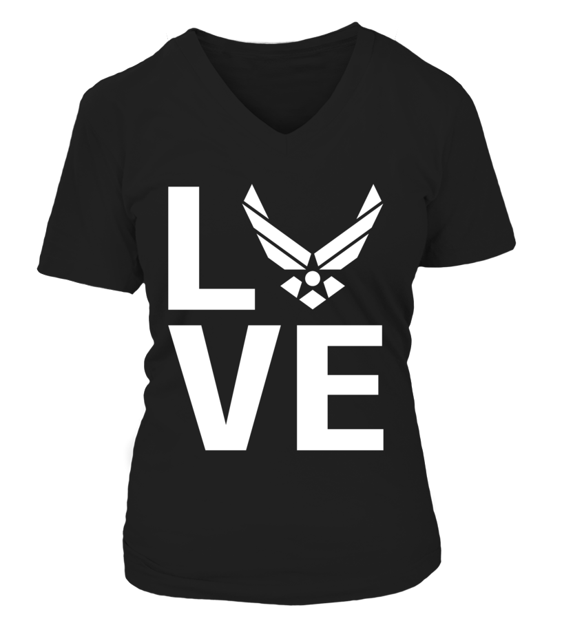 Air Force LOVE T-shirts - MotherProud