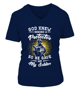 Army Mom God Gave T-shirts - MotherProud