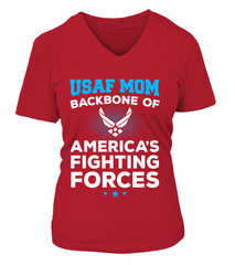 Air Force Mom Backbone T-shirts