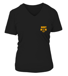 Navy Moms Scary T-shirts
