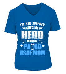 Air Force Mom Forever Daughter T-shirts