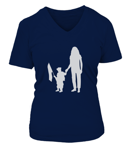 New Navy Mom Flag T-shirts