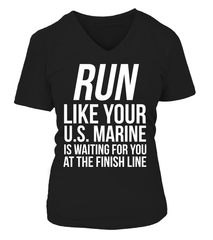 Marine Mom RUN! T-shirts