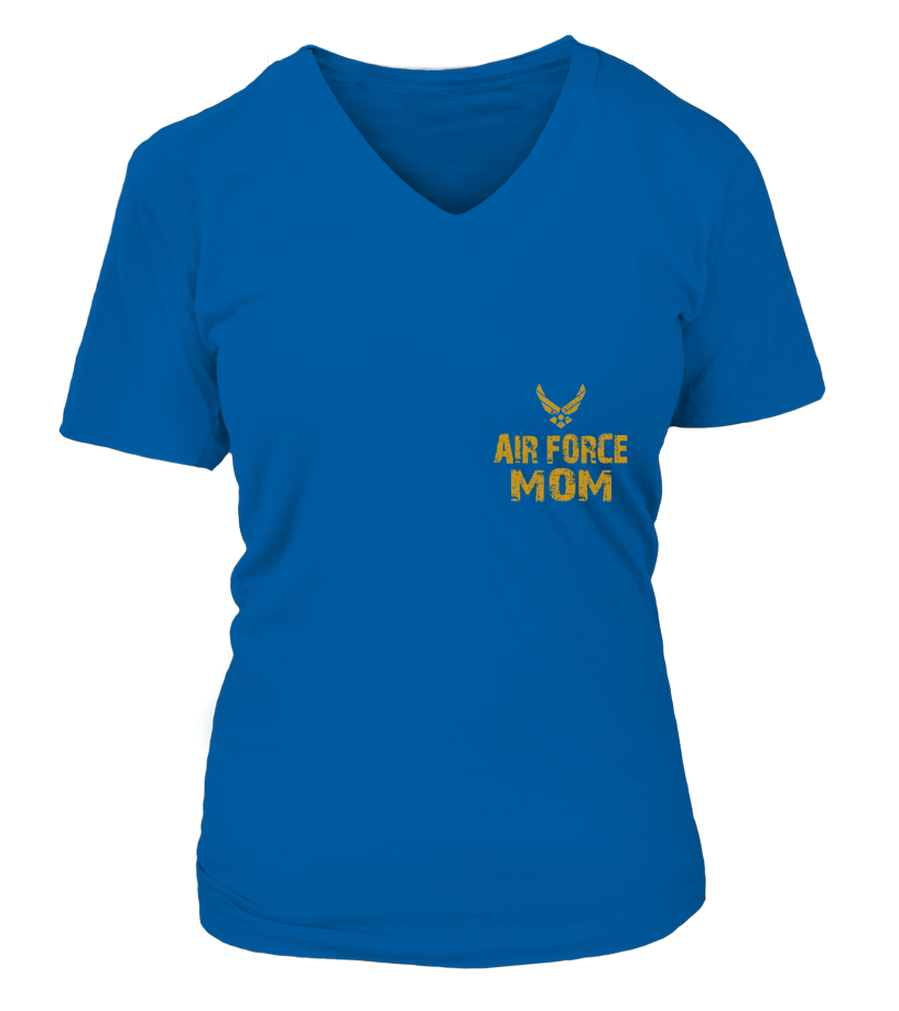 Air Force Mom Never Complains  T-shirts - MotherProud