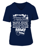 Army Mom Always Loving T-shirts - MotherProud